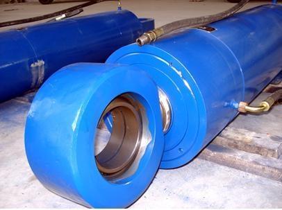 工程机械液压油缸的排气法